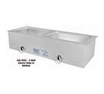 "Duke ASI-1ESL 120 24.25"" Hot Food Slide In Unit w/ (1) 12x20"" Wells, Stainless Top, 120 V"