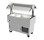 "Duke DPAH-2H2C 2081 58.37"" Hot/Cold Portable Buffet, (2) 5"" Iced Section, (2) Hot Well, 208/1 V"