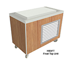 "Duke HB5FT 120 74"" Frost Top Unit w/ Drain, Paint Grip Body & Stainless Grille, 120 V"