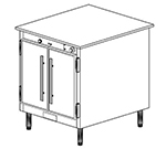 Duke 1151P 2401 Pass Thru Heated Holding Cabinet w/ 1-Thermostat, Legs, 240/1 V