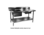 "Duke 181SP Add-On Commercial Hand Sink w/ 20""L x 20""W x 14""D Bowl"