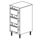 "Duke 2303P 2081 Pass Thru Heated Cabinet, 1-Thermostat Per 3-Compartment, 9X14X23.5"", 208/1 V"