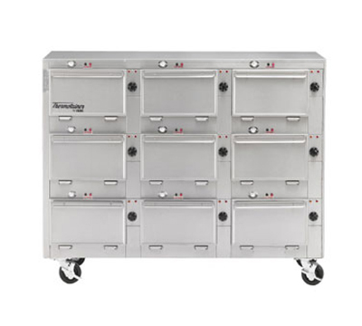 "Duke 2309P 2081 Pass Thru Heated Cabinet, 1-Thermostat Per 9-Compartment, 9X14X23.5"", 208/1 V"