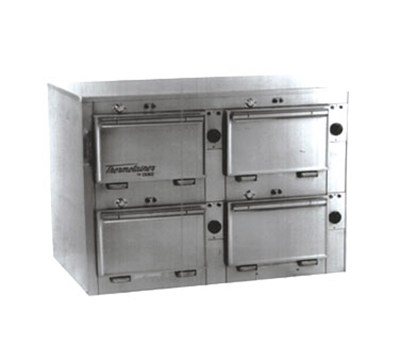 "Duke 2314P 2083 Pass Thru Heated Cabinet, 1-Thermostat Per 4-Compartment, 9X14X23.5"", 208/3 V"