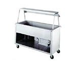 "Duke 327-25PG 217101 24.5"" Cold Unit, Paint Grip Steel Body & Undershelf, Semi-Gloss Black, 120 V"
