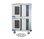 Duke 613-E4V Double Deep Depth Electric Convection Oven - 240v/1ph