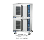 Duke 613-G4V Double Deep Depth Gas Convection Oven - LP