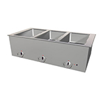 "Duke ASI-1E-SW 120 18.25"" Hot Food Slide In Unit w/ Drain & (1) 12x20"" Sealed Well, 120 V"