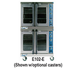 Duke E102-E Double Full Size Electric Convection Oven - 208v/3ph