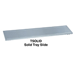 "Duke FSOLID-HD-5 72.37"" Tray Slide w/ Hinged Brackets & Rubbing Tracks for 5-Well Units"