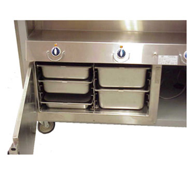 "Duke HTD-BASE-M Heat In Base Unit, Can Hold (12) 2"" Pans, 30x23x17"""