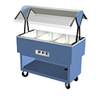 "Duke OPAH-2-HF 120 30-3/8"" Hot Food Portable Buffet w/ 2-Hot Wells, Stainless Top, 120 V"