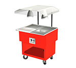 Duke OPAH-2-BC 208 Portable Beef Cart w/ Au Jus & Spillage Pan, Meat Spike, 208/1 V