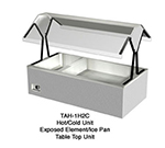 Duke TAH-1H3C 120 Hot/Cold Table Top Buffet, (3) Ice Cold Pan & (1) Hot Well, 120 V