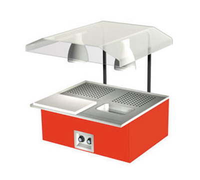 "Duke TAH-2-BC 240 30-3/8"" Table Top Beef Unit w/ Au Jus & Spillage Pan, Carving Board, 240/1 V"