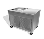 "Duke TIF-46SS 46"" Mobile Ice Cream Freezer w/ 4-Tub Capacity, 120v"