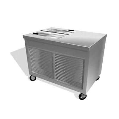 Duke TMD-46PG Milk Cooler w/ Top Access - (252) Half Pint Carton Capacity, 120v