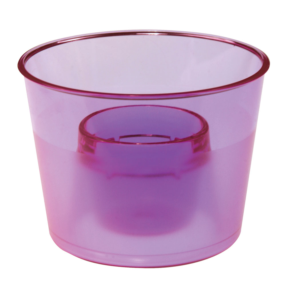 Bar Maid CR-7400AC Heavy Duty Bomb Cups w/ Smoked Sides, Assorted Colors