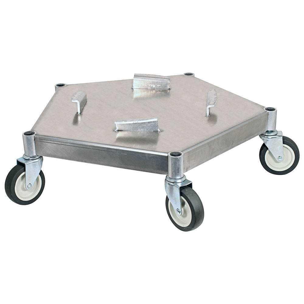 Bar Maid DOL-100 Heavy Duty All Metal Keg & Pail Dolly For Beer Keg & Trash Can, 400-lb Capacity