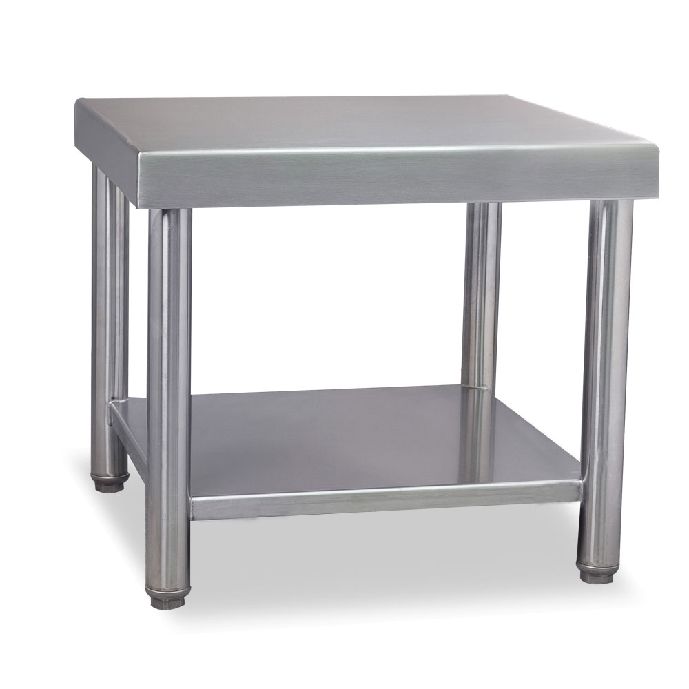 """Stoelting 2202408 Floor Stand for Twin E & F Units - 22""""W x 24""""D x 19""""H, Stainless"""