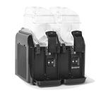 Stoelting CBD127-37 Frozen Beverage Dispenser w/ 2-Bowl & 1.6-gal Capacity, Black, 115v