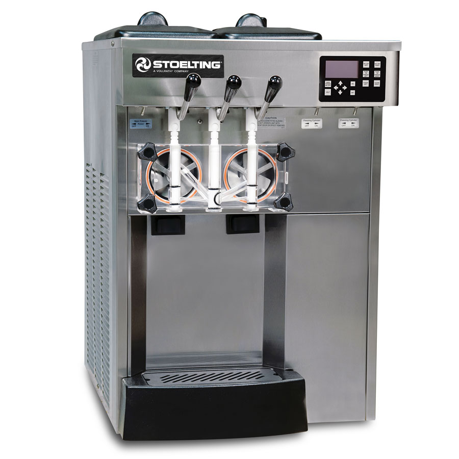 Stoelting E131-18 Shake Slush Freezer, Water Cooled, (2) 12-qt Hopper, 208230/1 V