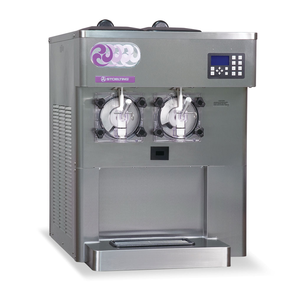Stoelting F122-38I2 Shake Slush Freezer, Air Cooled, 2-Flavor, 208-240/1v