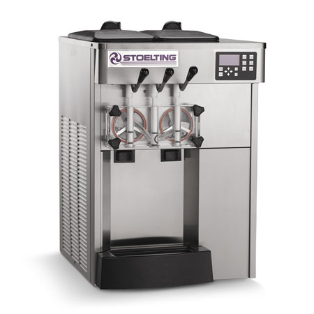 Stoelting F131-38I2 Soft-Serve Freezer w/ (2) 12-qt Hopper, Air Cool, 208-240/1v