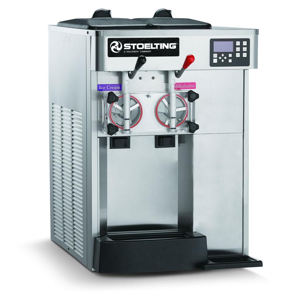 Stoelting F144-38I2 Combo Soft Serve Shake Freezer, (2) Flavors w/ (2) Valve, Air Cool, 208-240/1v