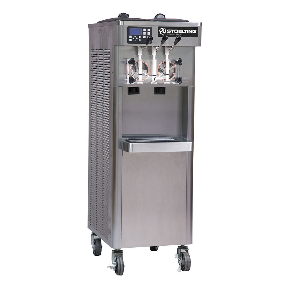 Stoelting F231-109 Soft Serve Yogurt Freezer w/ (2) 3-gal Hoppers, Water Cool, 208230/3 V