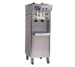 Stoelting F231-18 Soft Serve Yogurt Freezer w/ (2) 3-gal Hoppers, Water Cool, 208230/1 V