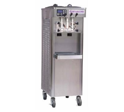 Stoelting F231-18 Soft Serve Yogurt Freezer w/ (2) 3-gal Hoppers, Water Cool, 208230/1 V