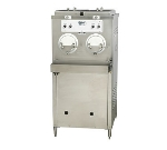 Stoelting M202-214 Custard Freezer w/ (2) 6-Gallon Hoppers, Air Cool, Export 380-415/50/3 V