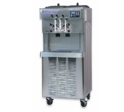 Stoelting O231-309 Soft Serve Yogurt Freezer w/ (2) 6.5-gal Hopper, Air Cooled, 208-230/3 V