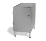 Stoelting 4158310 FS1 Floor Stand for Single E & F Unit w/ Enclosed Cabinet Base