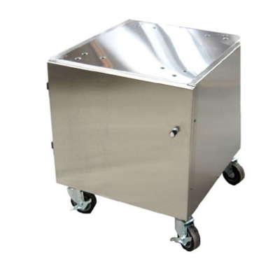 "Stoelting 4183513 22"" x 24"" Mobile Equipment Stand for Soft Serve Machines, Cabinet Base"