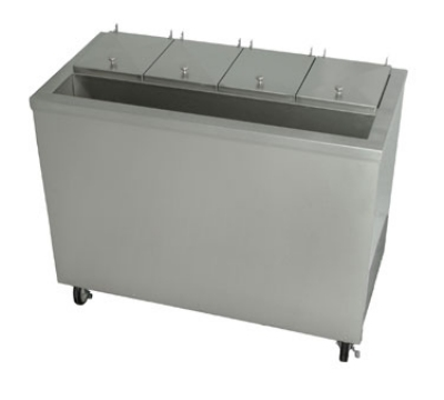 "Stoelting DC4-37 44.75"" Mobile Ice Cream Freezer w/ 5-Tub Capacity, 115v"