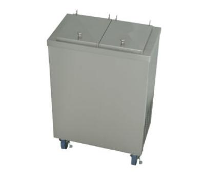 """Stoelting MDC2-37 24"""" Mobile Ice Cream Freezer w/ 2-Tub Capacity, 115v"""