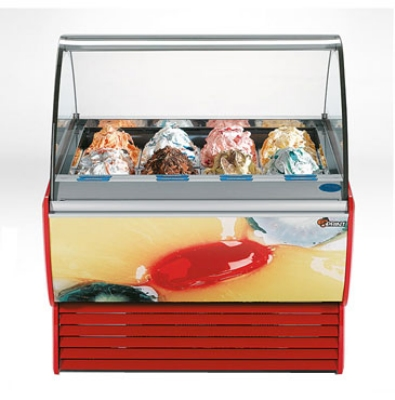 "Stoelting SPRINT 12-38 50.5"" Stand Alone Ice Cream Freezer w/ 12-Pan Capacity, 208-230v/1ph"