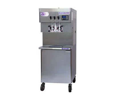 Stoelting U431-I2-48 Soft Serve Freezer w/ (2) 32-qt Hoppers, Remote Air Cool, 208-230/1 V