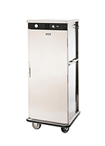"FWE E600 E-Series Banquet Cart, 1-Door, 60-Plate Capacity, 11"" Max, Stainless"