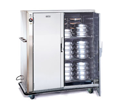 FWE - Food Warming Equipment A-120-2220 A-Series Banquet Cart, 2-Door, 96-120-Plate Capacity, 11-in Max, 220/1V