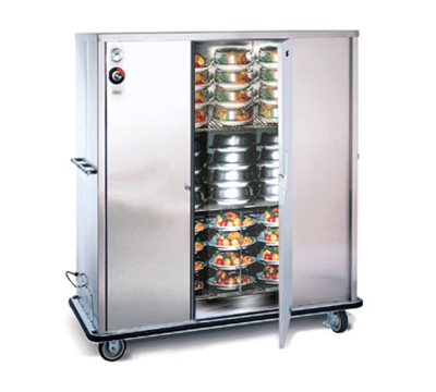 FWE A-120 120 A-Series Banquet Cart, 1-Door, 96-120-Plate Capacity, 11-in Max, 120V