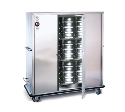 "FWE A-120-XL 120 A-Series Banquet Cart, 1-Door, 96-120-Plate Capacity, 12.375"" Max, 120V"