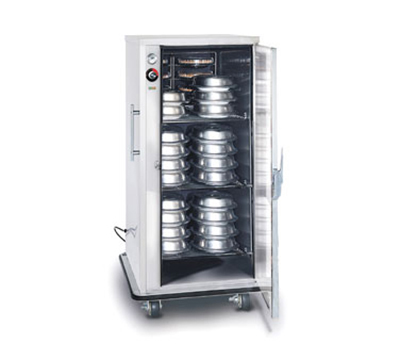 FWE - Food Warming Equipment A-60220 A-Series Banquet Cart, 1-Door, 48-60-Plate Capacity, 11-in Max, 220/1V