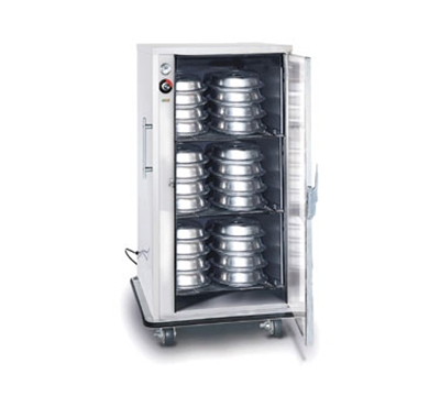 FWE A-60-XL220 A-Series Banquet Cart, 1-Door, 48-60-Plate Capacity, 12.375-in Max, 220/1V