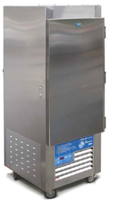"FWE - Food Warming Equipment ASU-9 28"" Single Section Roll-In Refrigerator, (1) Solid Door, 220v"