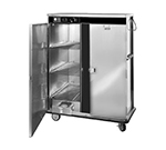FWE E-1200-XXL 120-Plate Heated Meal Delivery Cart, 120v