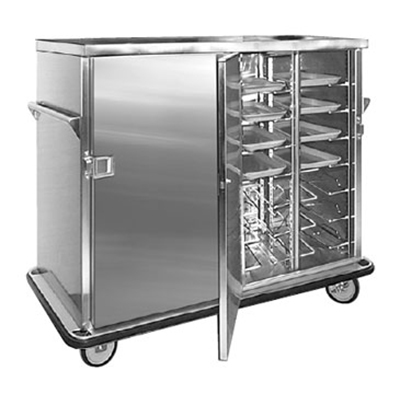 FWE ETC-1250-28 28-Tray Ambient Meal Delivery Cart