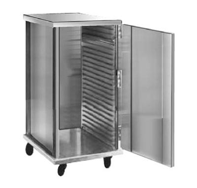 FWE - Food Warming Equipment ETC-1826-15-24 Enclosed Transport Cabinet, Intermediate Ht., 24 Slides for 18 x 26in Trays